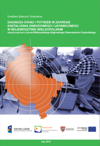 [Diagnoza stanu i potrzeb w zakresie kształcenia zawodowego i ustawicznego w województwie wielkopolskim