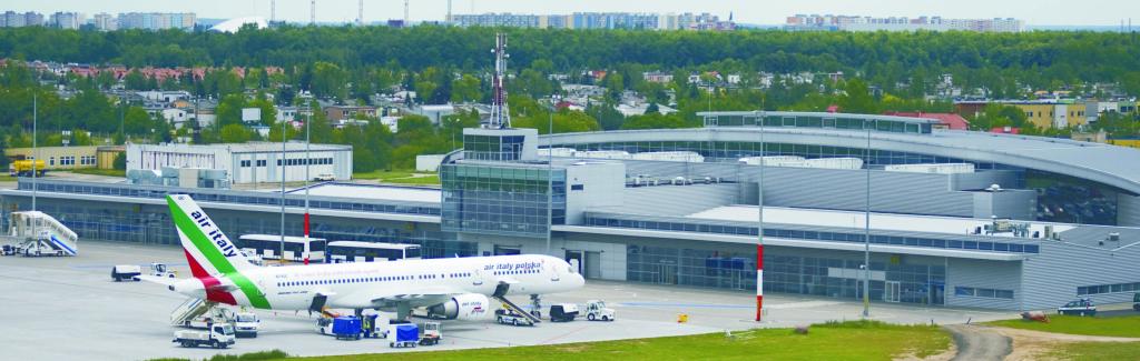 modernizacja portu lotniczego