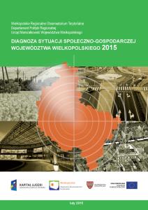 Diagnoza sytuacji społeczno-gospodarczej z 2015 r.